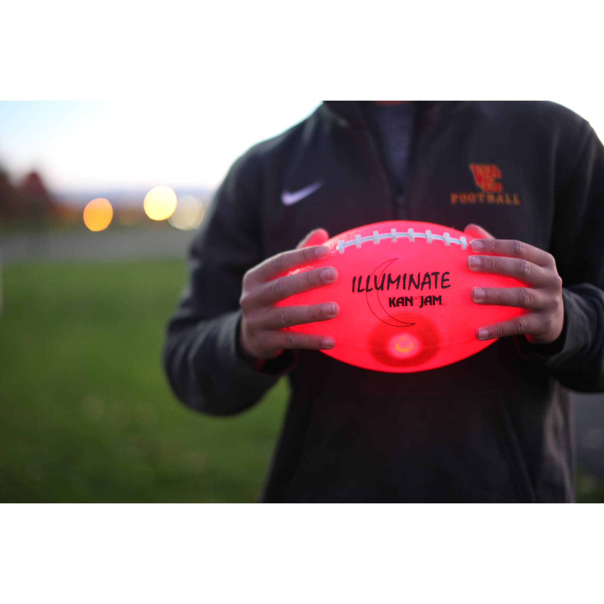 Kan Jam Illuminate LED Football by Kan Jam