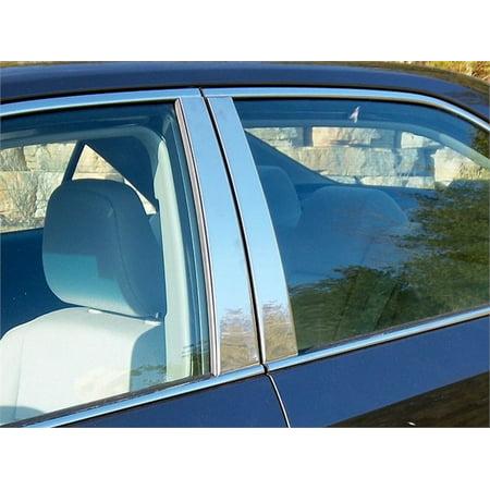 Fits 2012-2014  TOYOTA CAMRY 4-door -Stainless Steel (Toyota Camry Pillar)
