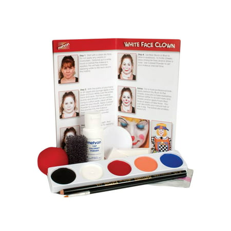 Mehron Clown Makeup Kits (5 - Clown Makeup