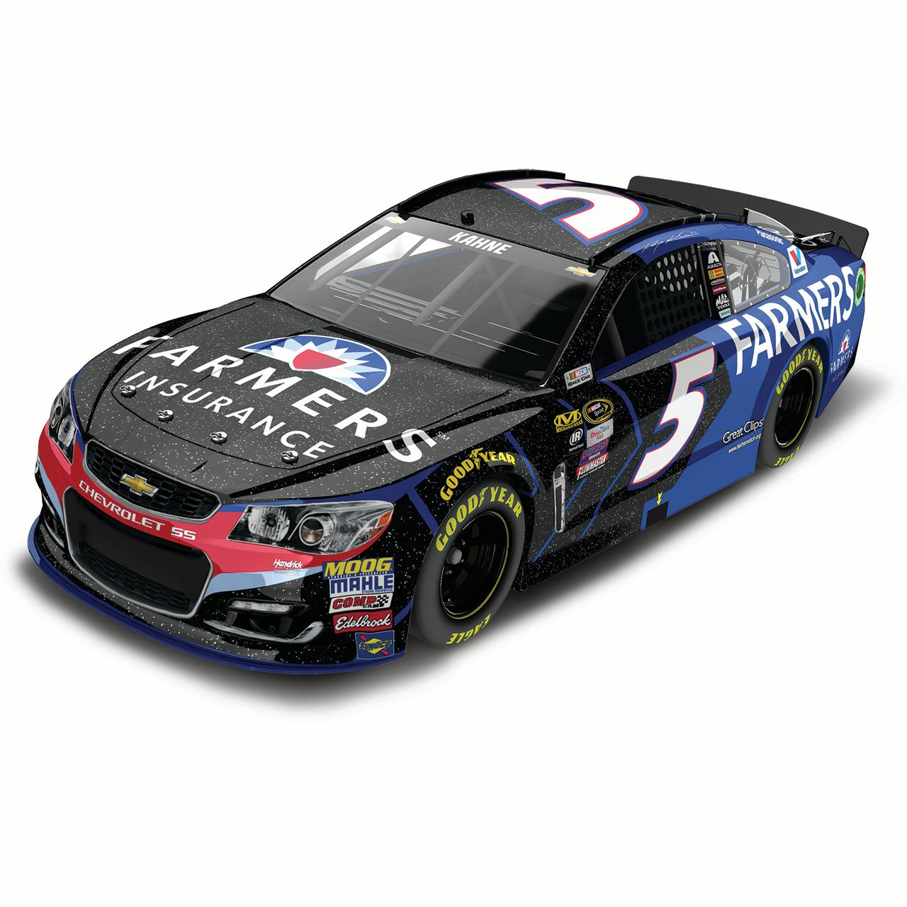 Kasey Kahne Action Racing 2016 #5 Farmer's Insurance 1:24 Nascar Sprint Cup Series Galaxy... by Lionel LLC