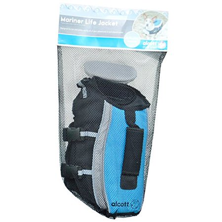 Image of Alcott Mariner Life Jacket, Large, Blue with Reflective Accents Multi-Colored