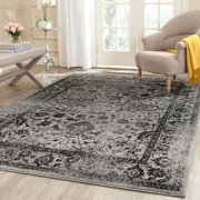 Safavieh Adirondack Vintage Distressed Grey Black Large Area Rug 9 X 12