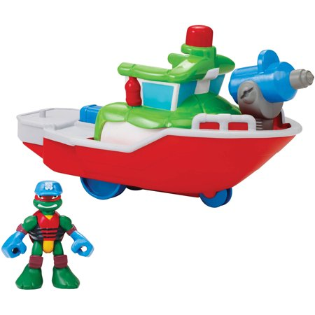 Fire Turtle (Teenage Mutant Ninja Turtles Fire Boat with Captain)