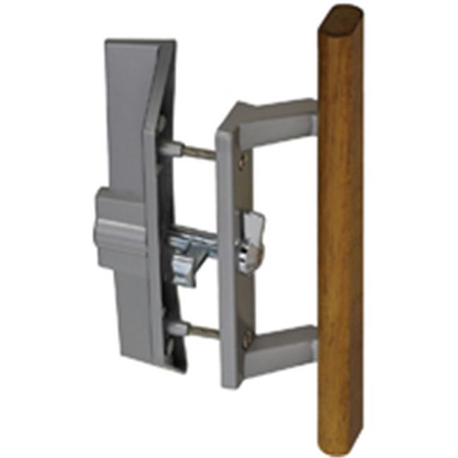 Stanley Hardware 843201 Wood Patio Door Latch, Aluminum