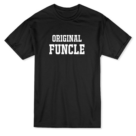 Original Funcle Graphic Men's Royal Blue T-shirt - image 1 of 1