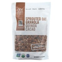 One Degree Organic Foods Quinoa Cacao Granola - Sprouted Oat - pack of 6 - 11 Oz.
