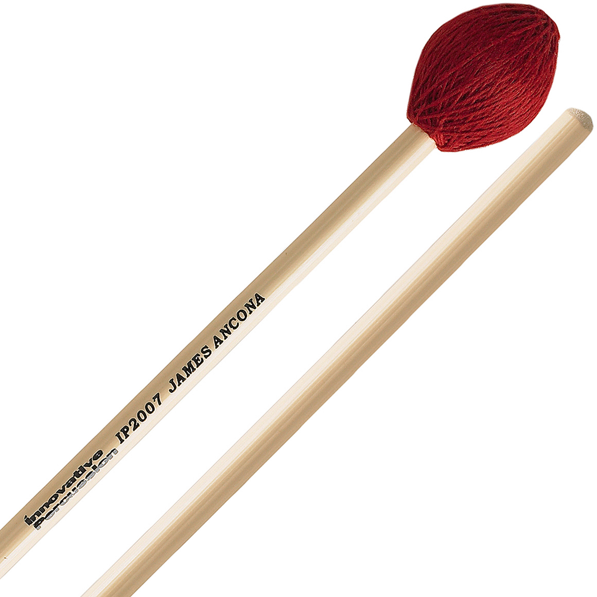 Innovative Percussion IP2007 James Ancona Series Hard Vibraphone Marimba Mallets w  Rattan... by Innovative Percussion