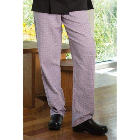 Vtex 4101-3306 Black & White Pinstripe Womens Chef Pant, 2X Large - image 1 de 1
