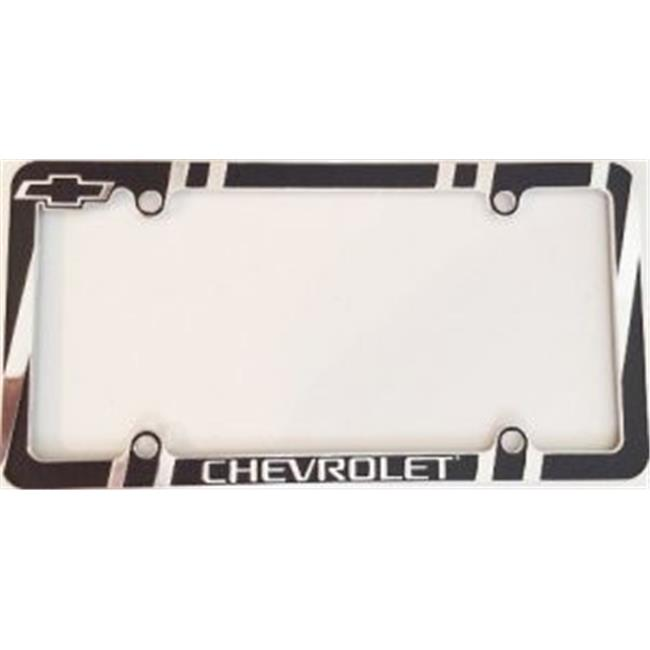 Chroma Decal C54-42541 Chevrolet License Plate Frame