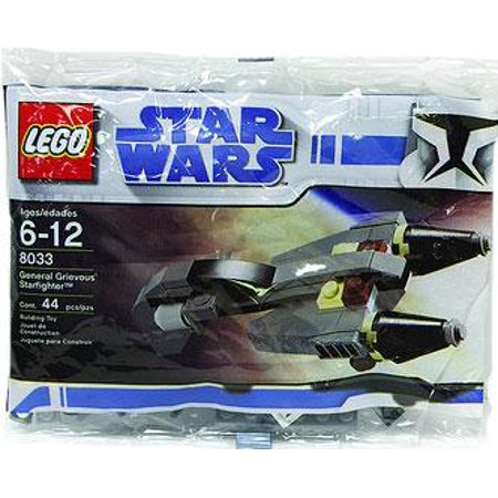 General Grievous Starfighter - General Grievous Starfighter Mini Set LEGO 8033 Bagged Star Wars