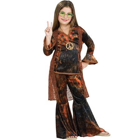 Woodstock Diva Brown Child Halloween Costume
