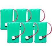 Replacement Battery BT446 / GE-TL26402-6 For All Brands (6 Pack)