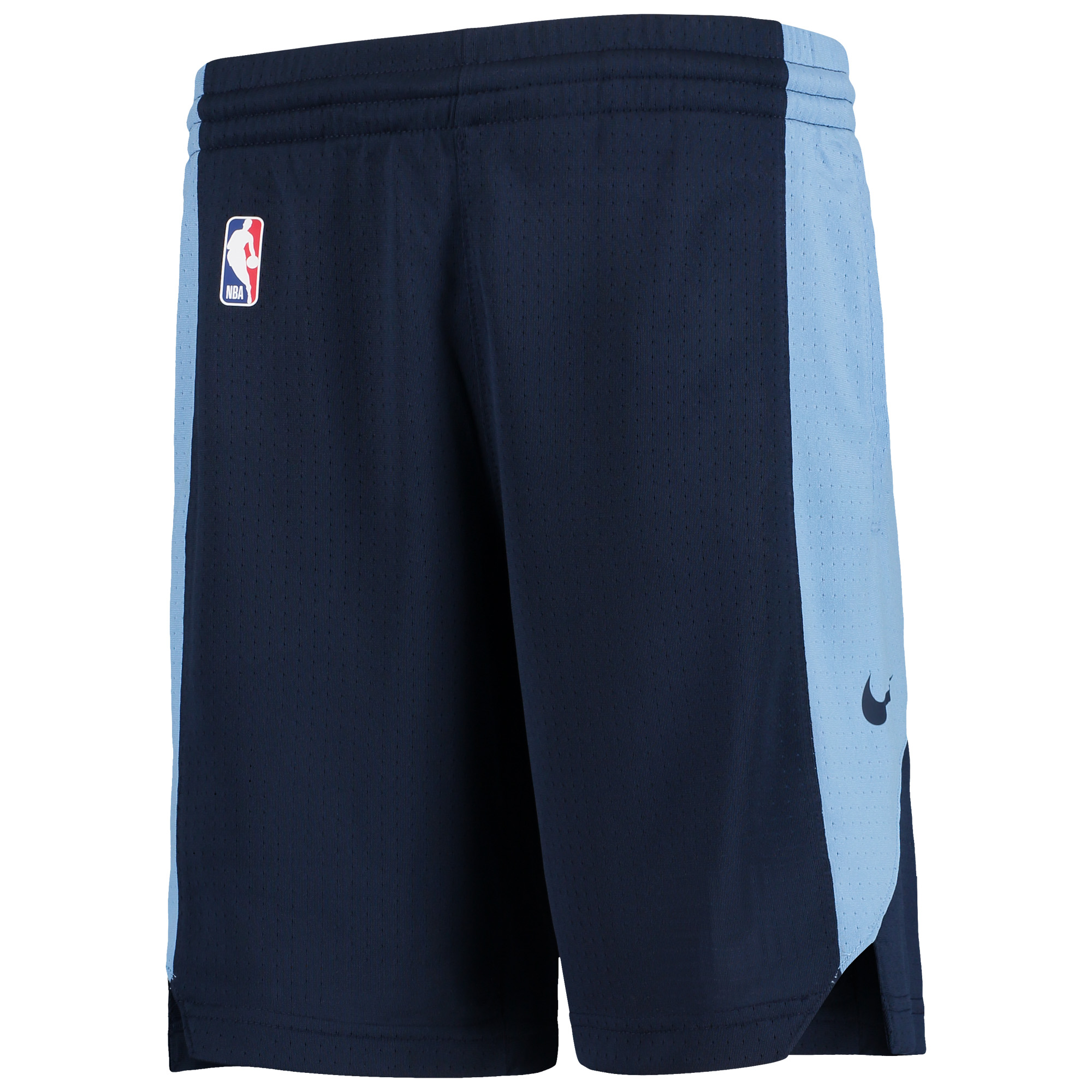 Memphis Grizzlies Nike Youth Performance Practice Shorts - Navy/Blue