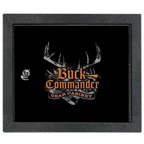 Stack-On Buck Commander Bow Gear Cabinet, Black - Walmart.com