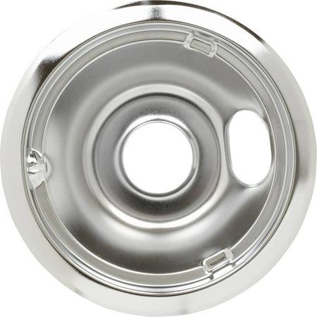 Square Burner Drip Pan (GE 8 In. Burner Drip Pan WB32X5076)