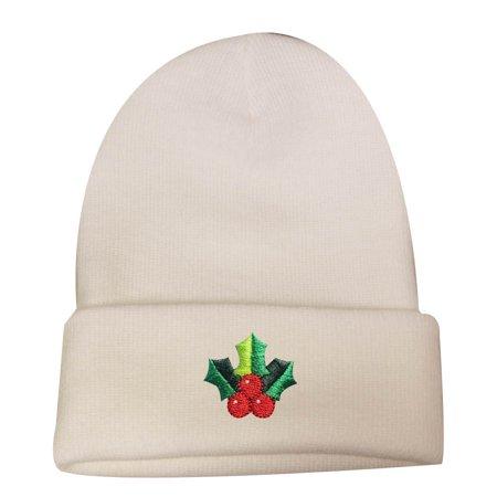 Mistle Toe Hat (City Hunter Sk901 Christmas Mistletoe Ski Beanie Hat -)