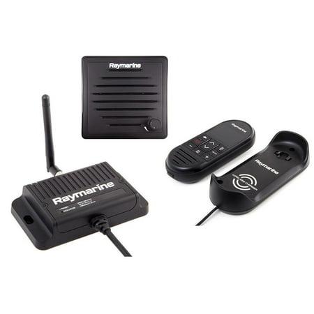Raymarine T70433 Ray90 Wireless Second Station Kit With Passive Speaker, Wireless Handset & Wireless - Raymarine Speaker