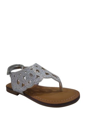 a7a6cc813 Product Image Wonder Nation Toddler Girls  Cutout Glitter Sandal