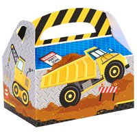 Construction Party Supplies 12 Pack Favor Box