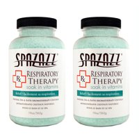Spazazz Aromatherapy Spa and Bath Crystals - Respiratory Therapy (2 Pack)