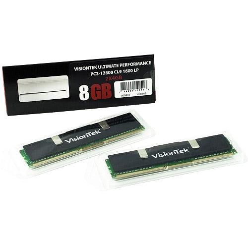 Visiontek Black Label 8GB DDR3 SDRAM Memory Module