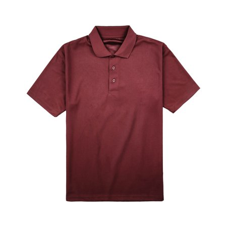 Mens Dry Comfort Polo Shirts Golf Jersey Casual Shirt