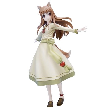Holo Spice Renewal Package Version and Wolf (1/8 Scale PVC Figure)