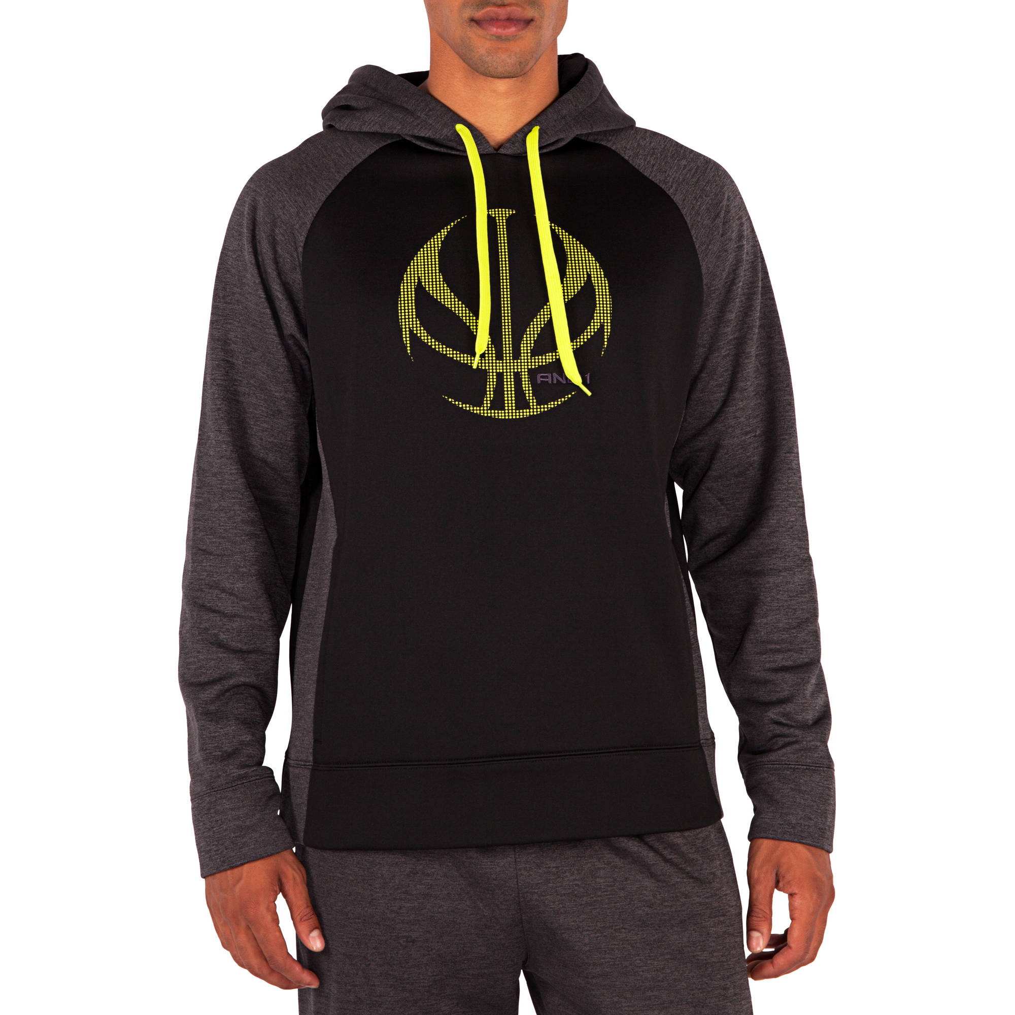 And1 Big Men's Showtime Performance Tech Hoodie