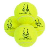 Hyper Pet Tennis Balls Dog Toy, 4 count