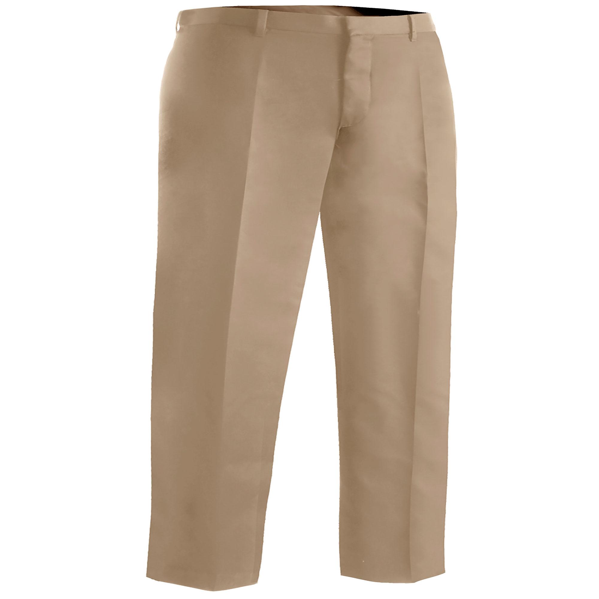 Edwards Garment Men's Brass Zipper Flat Front Dress Pant,...