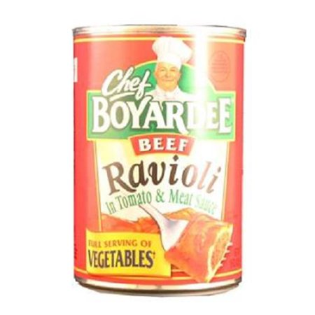 Product Of Chef Boyardee, Beef Ravioli Can, Count 1 - Spaghettis & Pasta / Grab Varieties &