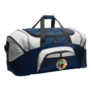 Broad Bay World Cup Fan Duffle Bags or World Soccer Luggage