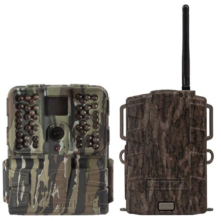 Moultrie S 50I 20Mp 80 Video No Glow Ir Game Trail Camera   Mobile Field Modem