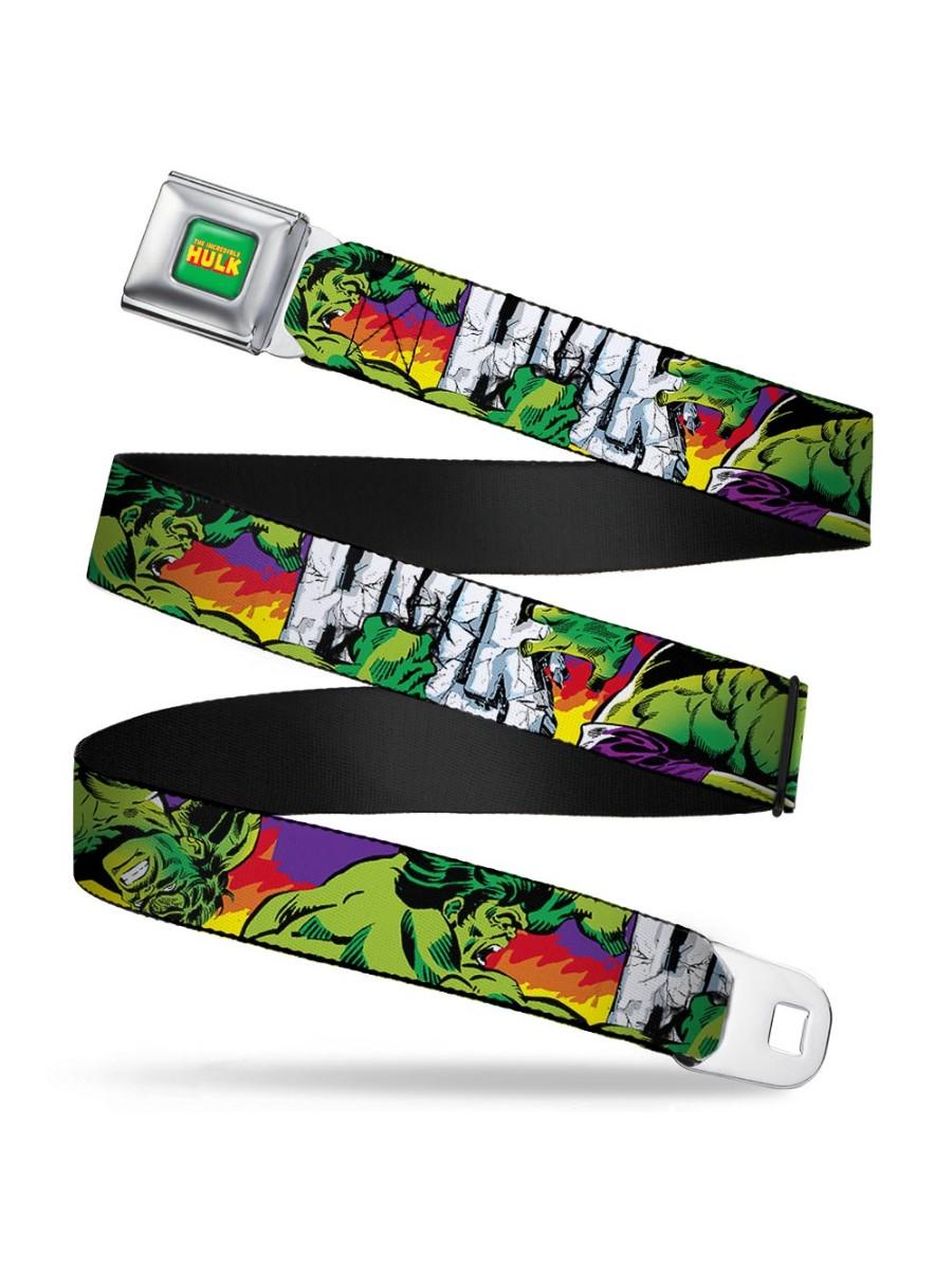 Marvel The Incredible Hulk Seatbelt Belt - Stomping/Punching HULK