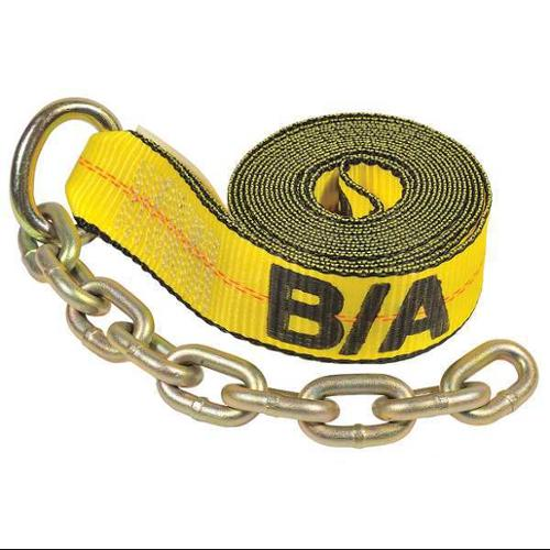 B/A PRODUCTS CO. 38-200C-L Tie-Down Strap, Ratchet, 30 In., 4700 lb.