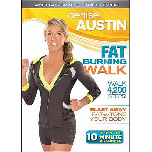 Denise Austin: Fat Burning Walk by Trimark Home Video
