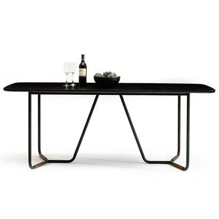 Sauder Boutique Veneer Top Dining Table, Cherry -