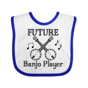 Future Banjo Player Baby Bib
