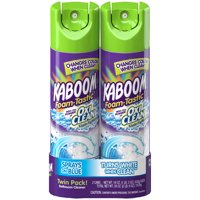 Kaboom Foam-Tastic with OxiClean Fresh Scent Bathroom Cleaner, 19oz. (Pack of 2)
