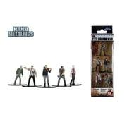 Nano Metalfigs The Walking Dead 5 Pack Die Cast Figures by Jada Toys Pack B