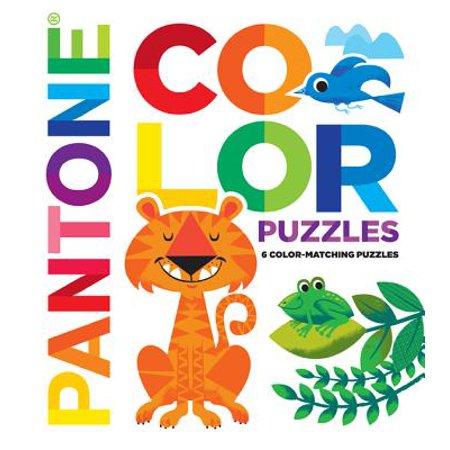 Pantone: Color Puzzles : 6 Color-Matching (Assorted Pantone Colors)