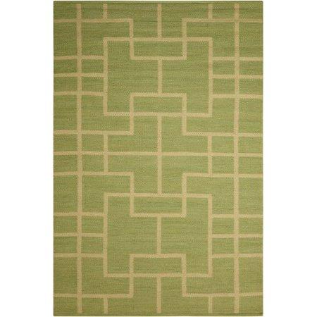 Barclay Butera Maze Legra Hand-Woven Green Area Rug