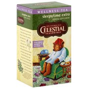 Celestial Seasonings Sleepytime Extra Wellness Tea, 20ct  (Pack of 6)