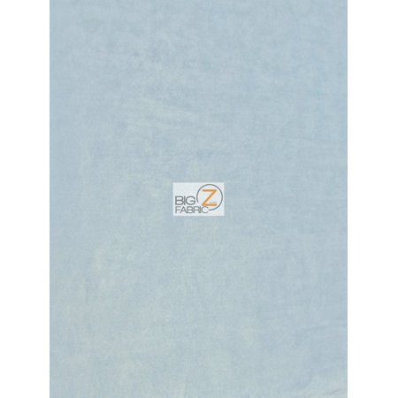 Microfiber Suede Upholstery Fabric / Sky Blue / Passion Suede Microsuede ()