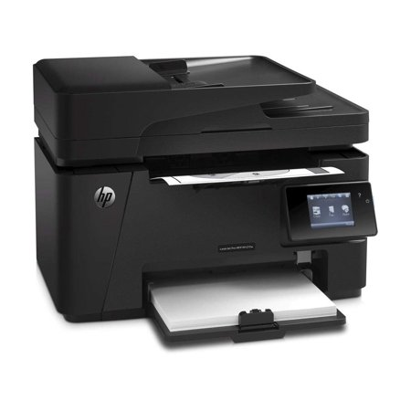 Hewlett-Packard-HP Laserjet Pro Wireless Monochrome Multifunction M127fw Laser Printer, Copier, Scanner and Fax, Up to 21 ppm, 600 x 600 dpi Black Print Quality (Hewlett Packard 1102w Laserjet Wireless Monochrome Printer)