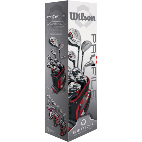 Wilson Profile Men's Senior Golf Club Set, Right-Handed
