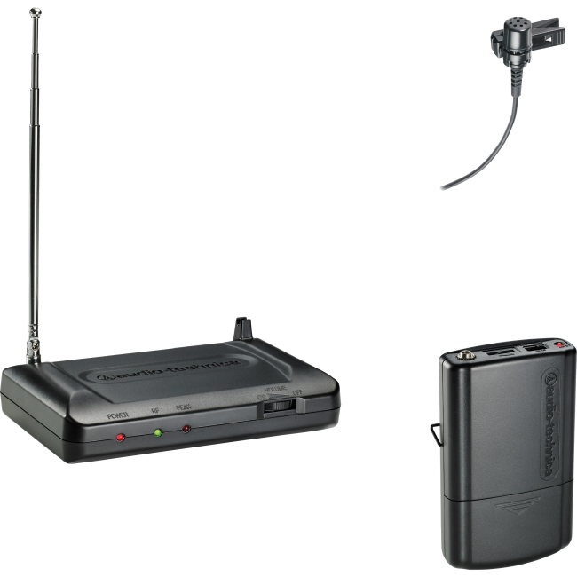 Audio-Technica ATR7100L-T8 VHF Wireless Lavalier Set, Band T8 by Audio-Technica