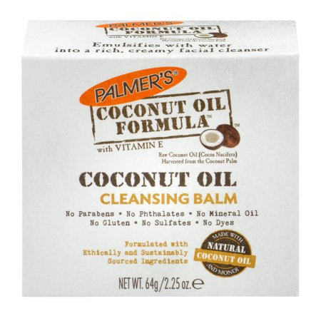 - Palmer's Coconut Oil Formula with Vitamin E Facial Cleansing Balm, 2.25 OZ