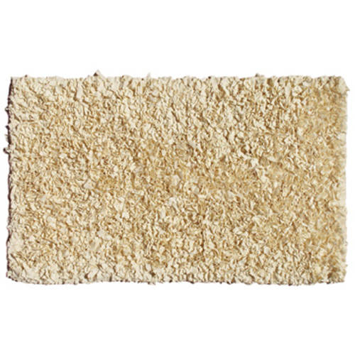 The Rug Market Shaggy Raggy Cafe Au Lait Area Rug, Size 2.8' x 4.8'