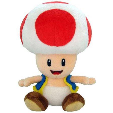 Super Mario Toad Plush (Super Mario Toad)